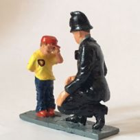 Policeman with Boy